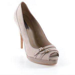 PRICE FIRM* GORGEOUS ZARA Peep Toe High Heels